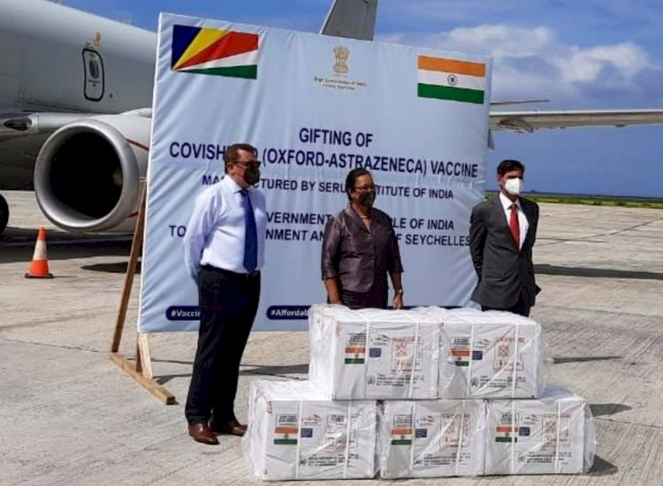 [IN PICS] India's soft power reaches its height with Covid vaccine delivery