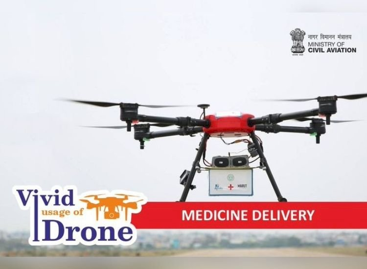 Drones may soon take Covid vaccines to India's remotest villages